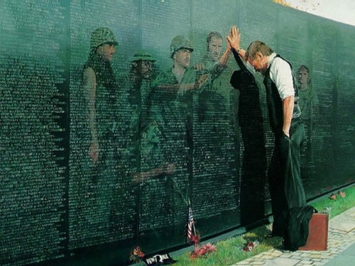 Vietnam War Memorial © unit8rafaelL11