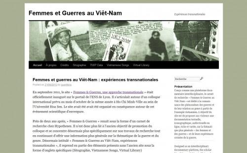 Ecran_Femmes&GuerresVietNam