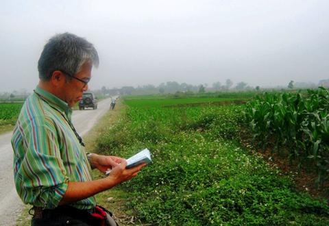 Tiến sĩ Masanari. Ảnh: Báo Thanh tra © 2013 VN Express