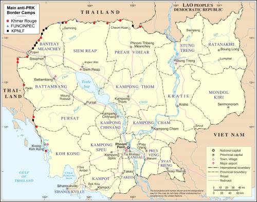 Cambodia anti-PRK border camps © 2010 Wikimedia Commons