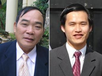 Vi Đức Hồi et Nguyễn Tiến Trung © DR