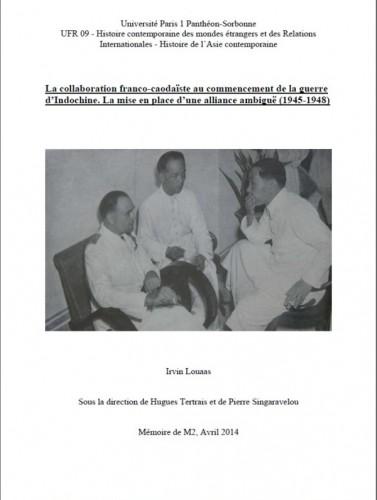 Louaas_LaCollaborationFranco-Caodaïste