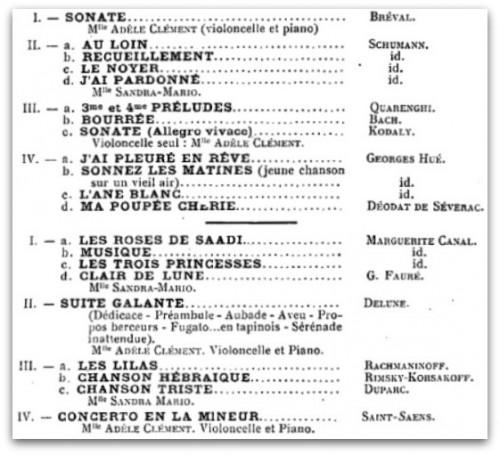 AdèleClément_Programme29mars1925_Alger