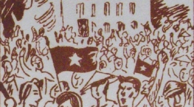 Cách mạng tháng Tám – La Révolution d'Août (tract de propagande)