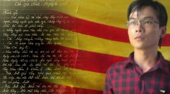 Nguyễn Viết Dũng : condamné pour un symbole