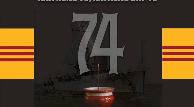 Tưởng niệm 42 năm ngày mất Hoàng Sa vào tay Trung Quốc