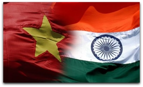 VietnamIndiaFlags