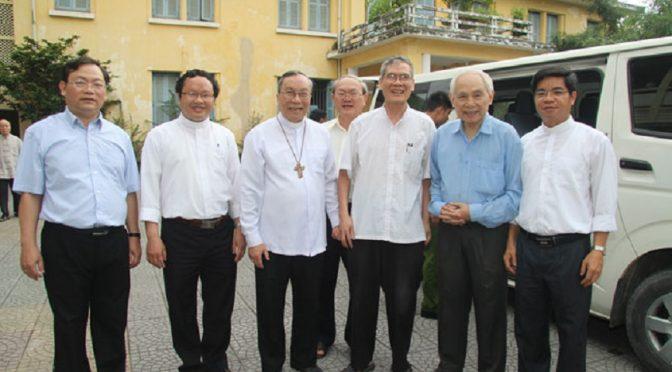 Libération du père Thadeus Nguyễn Văn Lý