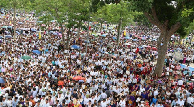 Assomption de Marie : les Catholiques vietnamiens à l'avant-poste de la contestation écologique