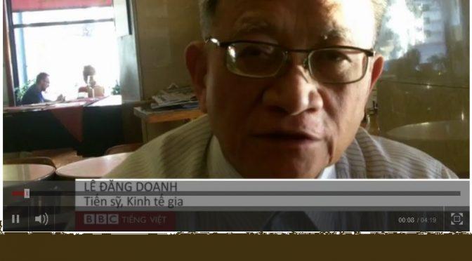 Lê Đăng Doanh: «VN cần cải cách mạnh mẽ» [BBC]