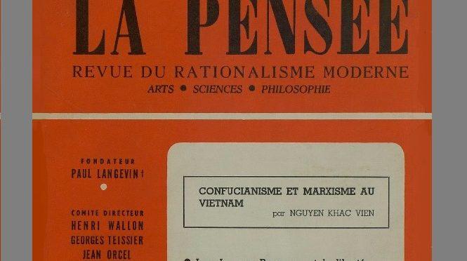 Nguyen Khac Vien : Confucianisme et marxisme au Vietnam [1962]