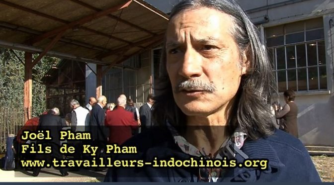Joël Pham : Travailleurs indochinois – Non à une histoire travestie
