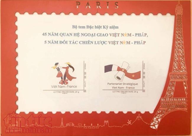 L'image du jour : Phát hành bộ tem đặc biệt kỷ niệm 45 năm