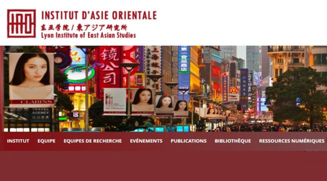 IAO : Recherches sur l'Asie – Périodiques en ligne