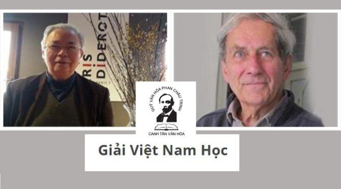Prix Phan Châu Trinh 2018 décerné à Pierre Brocheux et Daniel Hémery