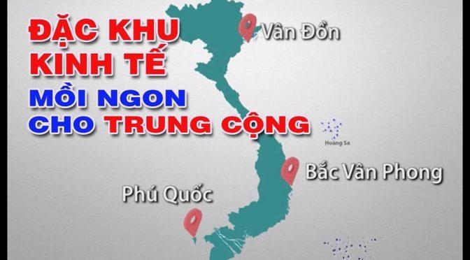 Projet de «3 zones économiques spéciales chinoises» au Viêt-Nam – Réactions