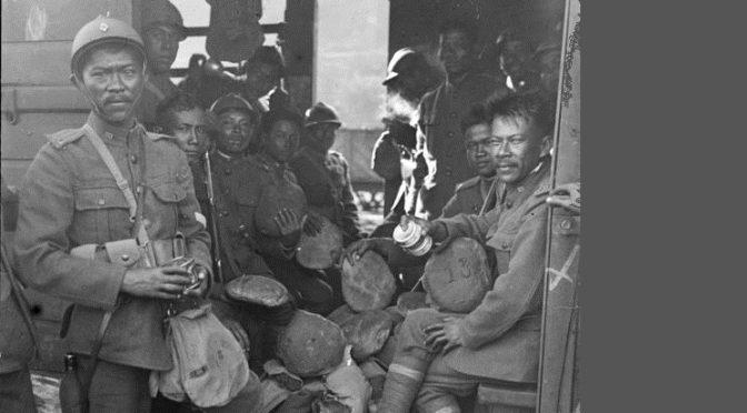 Claire Tran – Première Guerre mondiale : ces Asiatiques venus au front [Journal du CNRS]