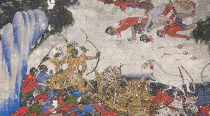 Marie Gamonet : Laos – Les peintures murales des monastères