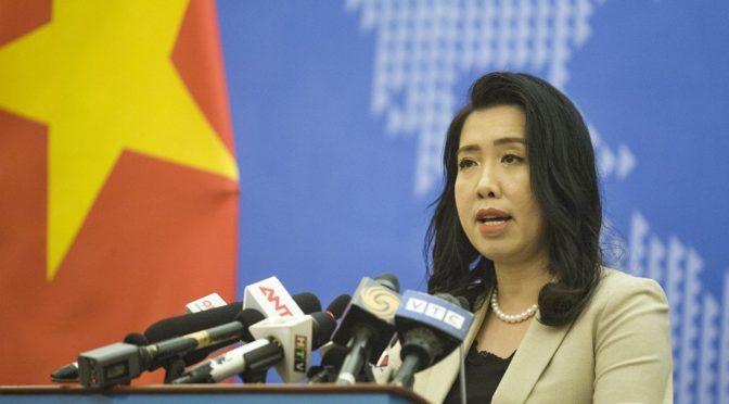 «Mer de l'EST» : Nouvelle protestation du Viêt-Nam