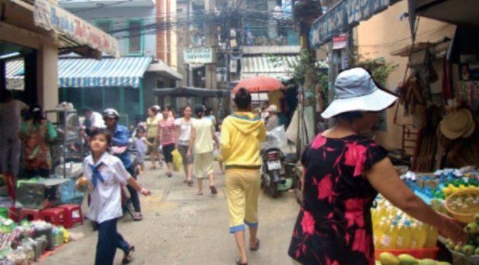 Marie Gibert-Flutre : Les envers de la métropolisation. Les ruelles de Hô Chi Minh Ville, Vietnam [parution]
