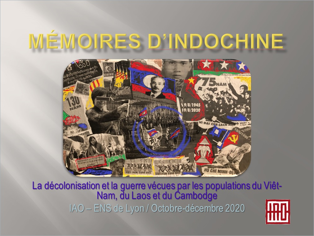 Mémoires d'Indochine – Synopsis 2020