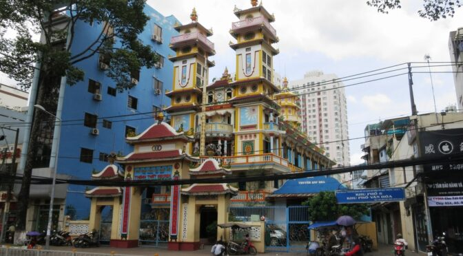 Nguyễn Ngọc Châu : Sur le Caodaïsme vietnamien [2020]
