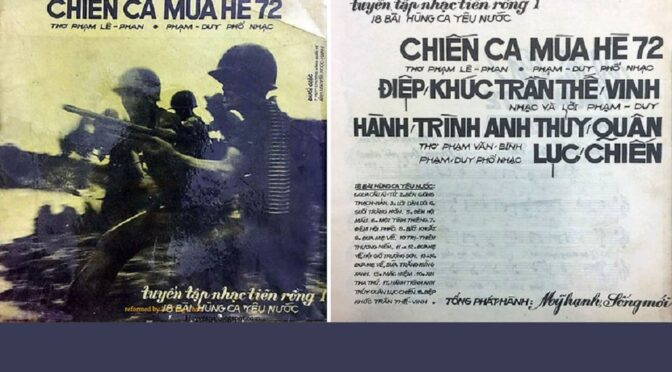 """""""1972: The War Between North and South Vietnam"""" [call for papers]"""